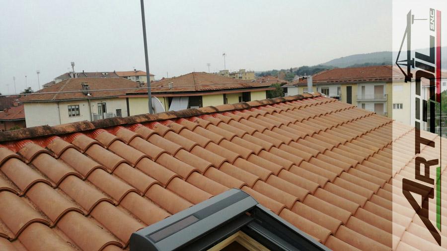 rifacimento tetto, coppi