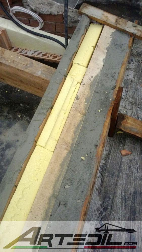 rifacimento tetto, isolante