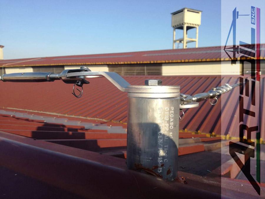 Installazione Linea Vita su tetto