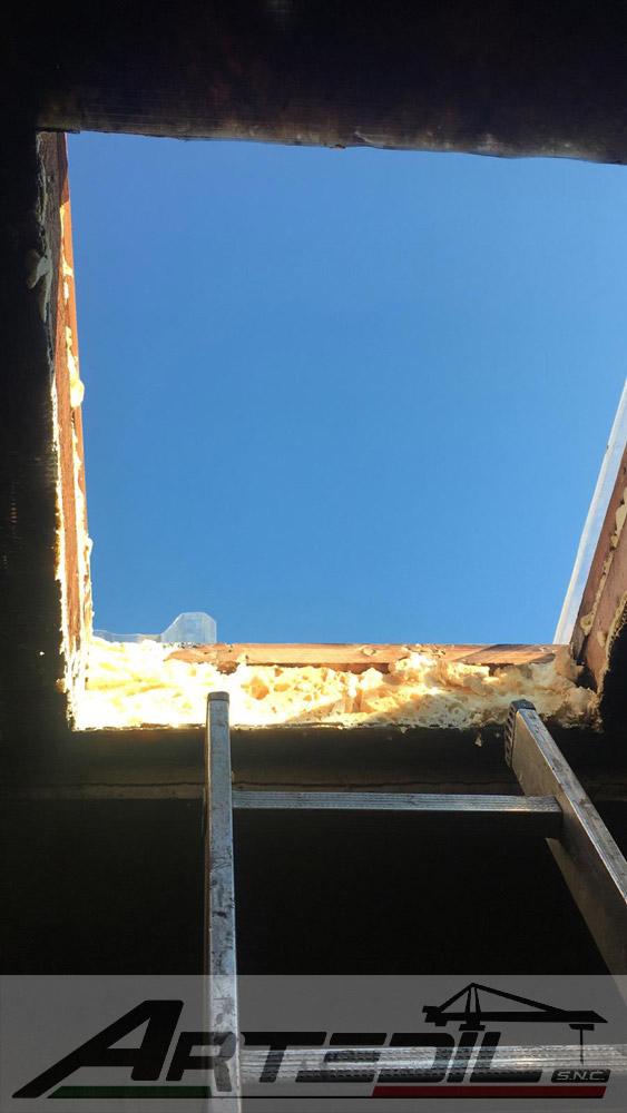sostituzione finestra tipo Velux