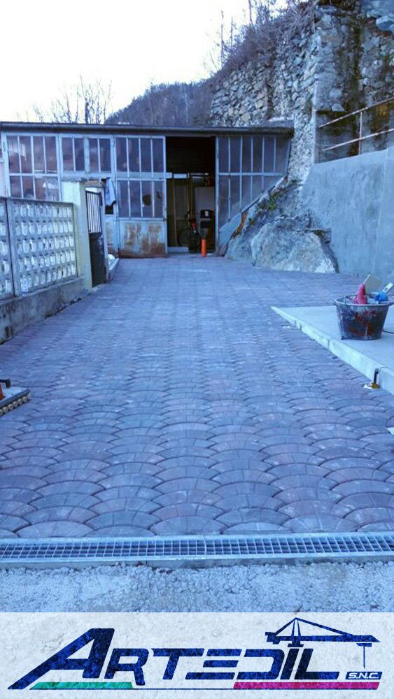 posa pavimentazione autobloccanti per esterni